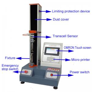 China Automatic Tabletop Material LCD Electric Universal Tensile Testing Machine on sale