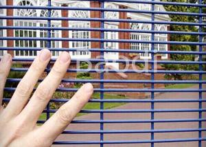 China Mild Steel Welded Anti Climb Mesh Fence Metal Square Post For Factory Machine Guards on sale