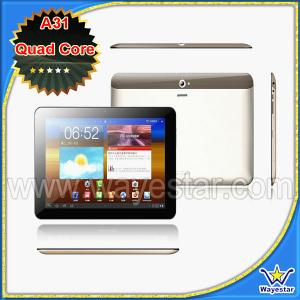 China 9.7 inch Allwinner A31 Dual Cameras QuadCore Tablet PC on sale