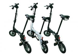 """Quality 12"""" Fashion 2 Wheels Lightweight Folding Bike Easy Assembling For Road Traveling for sale"""