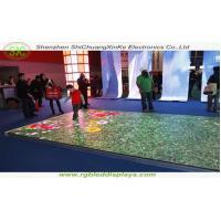 High Class P8.928 LED Dance Floor Waterproof / Dance Floor Tile Screen Rent , 5000 Cd/Sqm