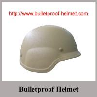 China Wholesale China Police  Khaki NIJ IIIA PASGT ACH Bulletproof helmet on sale