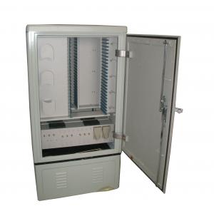 Quality Stainless steel material 576 cores cable cross-connection cabinet for sale