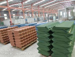China ColorfulStoneCoatedSteelRoofingTile Zinc CorrugatedRoofingSheet/ Al-Zn Alloy Coated metal Sheet Material Roof Tile on sale