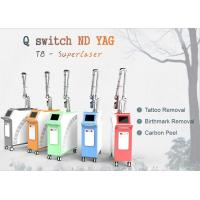 1064 / 1320 / 532 Q Switch Nd Yag Laser Machine For Tattoo Removal / Pigment Removal