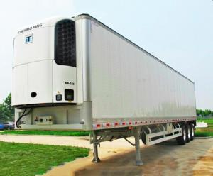 China 13.6m China Refrigerated Van Trailer, China Refrigerator trailer, Refrigerator box trailer on sale