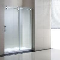 """Tempered Sliding Glass Door Shower Enclosure Replacement , 48"""" Shower Door"""
