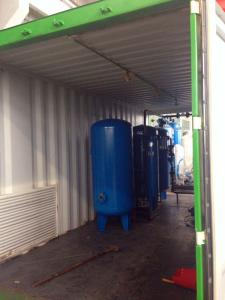 China Container Type PSA Nitrogen Generator For Marine Industry and Oil Tanker on sale