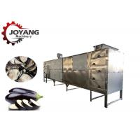 China Industrail Tunnel Belt Hot Air Circulation Ginger Dryer Eggplant Drying Machine on sale