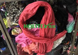 China Fashionable Second Hand Scarves Cotton Material Korean Style For Congo on sale
