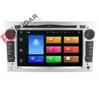 China Silver Panel Opel Corsa Dvd Player , Android Bluetooth Car Stereo With Google Maps on sale