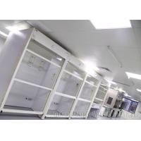 Transparent Perchloric Acid Fume Hood Wash Down Capability 1580*600*1650mm Internal Size