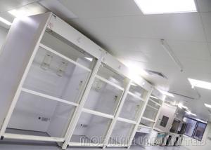 China Transparent Perchloric Acid Fume Hood Wash Down Capability 1580*600*1650mm Internal Size on sale