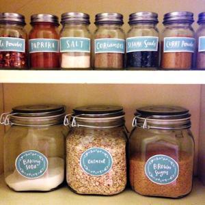 China 2015 Custom Jar Labels on sale
