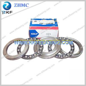 China Double Direction Thrust Ball Bearing SKF 52216 Steel Cage 65X115X48mm on sale