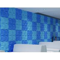 China Hotel Hallways Decorative Interior / Exterior 3D  Wall Panels for Entertainment Wall Decals on sale