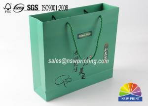 China Matt Laminated Custom Eco Friendly Paper Gift Bags For Health Care Product on sale