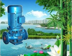 China ISG  20m head pipeline pump for high pressure lift water on sale