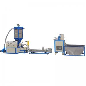China EPS Foam Plastic extruder and granulating machine Capaties 150-200 Kg/H on sale