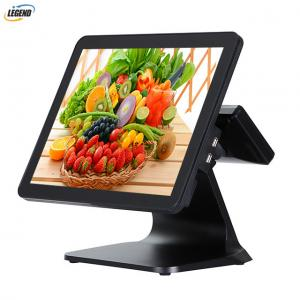 China Win 10 OS All In One Touchscreen Pos System 2*20 VFD 1024 X 768 Pixels Resolution on sale