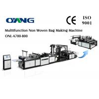 Auto Ultrasonic Sealing Non Woven Fabric Bag Making Machine Fast Speed