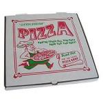 Customized recyclable pizza boxes