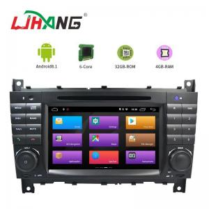 China Car Autoradio Mercedes Navigation Dvd With Madia Card And Map Card on sale