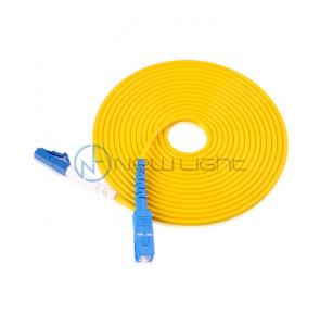China Sc Lc Blue Connector Internet 5G Optical Fiber Patch Cord on sale