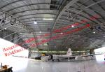 Large-span Waterproof Insulated Prefabricated Steel Structure Aircraft Hangar for Private Usage