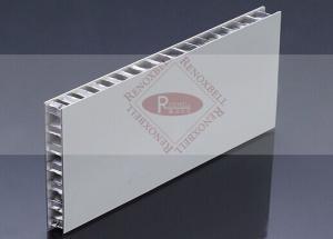 China Custom Made Aluminum Honeycomb Panels Coated Temperatrue Resist Glue on sale