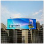 DIP P10 IP65 Energy Saving LED Display 10000/m2 Pixel Density For Advertising