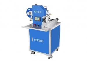 China Automatic Flag Adhesive Labeling Machine Semi Automatic Type 8 . 5KG on sale