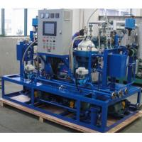 Custom Centrifugal Hfo Purifier Separator , Lube Oil Purification System