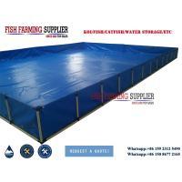 Renewable Energy Projects PVC Portable PVC Plastic Fish Tank 0.5m3-50m3