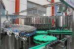 Glass Bottle Juice Filling Line / Fruit Juice Bottling Capping Equipment