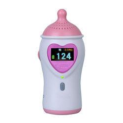 9V Alkaline Battery Fetal Heart Rate Doppler With Color LCD Display Earphone And Speaker