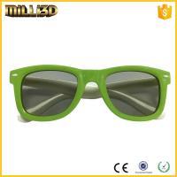 reusable 3d circular or linear polarized film 3d cinema passive glasses