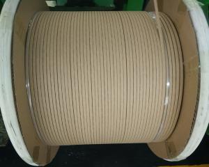 China Paper covered flat copper wire strip|500KV transformer interturn insulation paper covered flat copper wire strip on sale