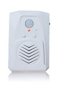 China Campainha da saída da entrada do jogador do som do mp3 do alerta da voz do detector de movimento do RECÉM-VINDO on sale