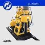China Hydraulic water drilling rig HZ-200YG mud rotary drilling rig with hydraulic spindle wholesale