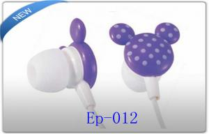 China Cute Promotional Radio Fashion In Ear Earphone / Earbuds for girls on sale