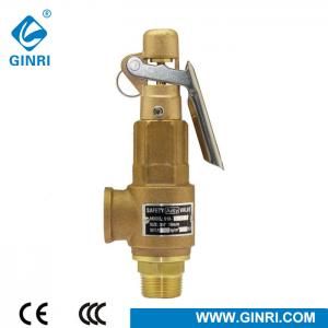 China Brass Bronze Forging Control High Pressure Reduce Relief Safety Valve For Boiler Steam on sale