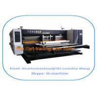 TB800 2 color flexo printing slotting corrugated carton box making machine