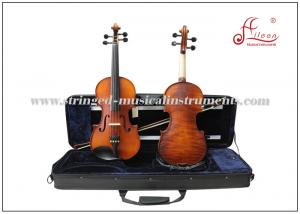 China Musical 4/4,3/4,1/2,1/4,1/8 Professional Aileen Student Violin With Case on sale