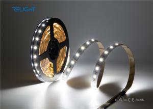 China DC12V/24V High Efficiency 85lm/w write color CRI up to 90 Flexible LED Strip Lights on sale