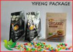 China Four Side Seal Block Bottom Packaging Bag For Coffee Packaging Snack Package wholesale