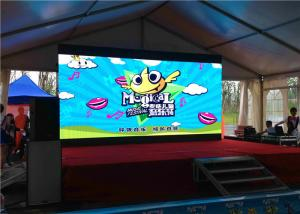 Quality 1/16 Scan Rgb SMD 2121 LED Stage Panels , Outdoor Led Video Wall P4 Pixel Pitch for sale
