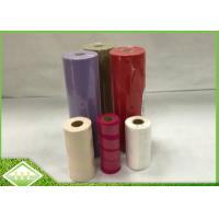 Colored Spunbonded Non Woven Fabric Roll For Disposable Table Cloth / Bed Sheet
