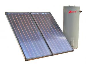 China Flat panel Balcony solar water heater on sale