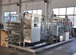 137℃ SUS304 Tubular UHT Pasteurizer Extra High Temperature Sterilizer